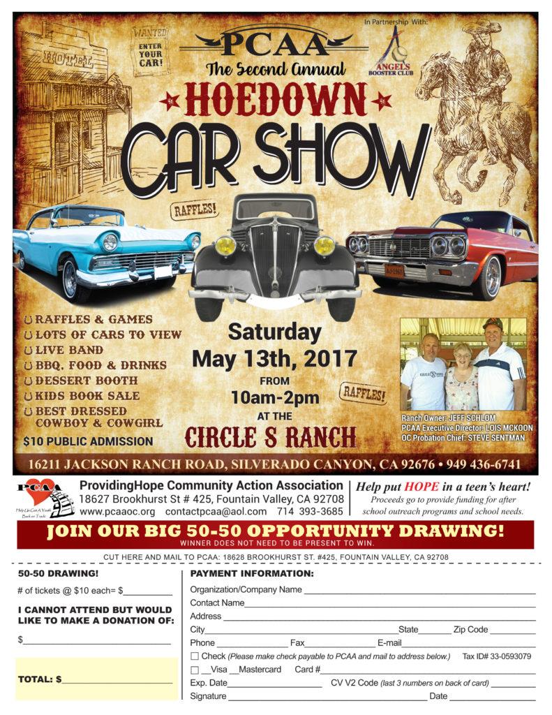 PCAA Car Show 2017